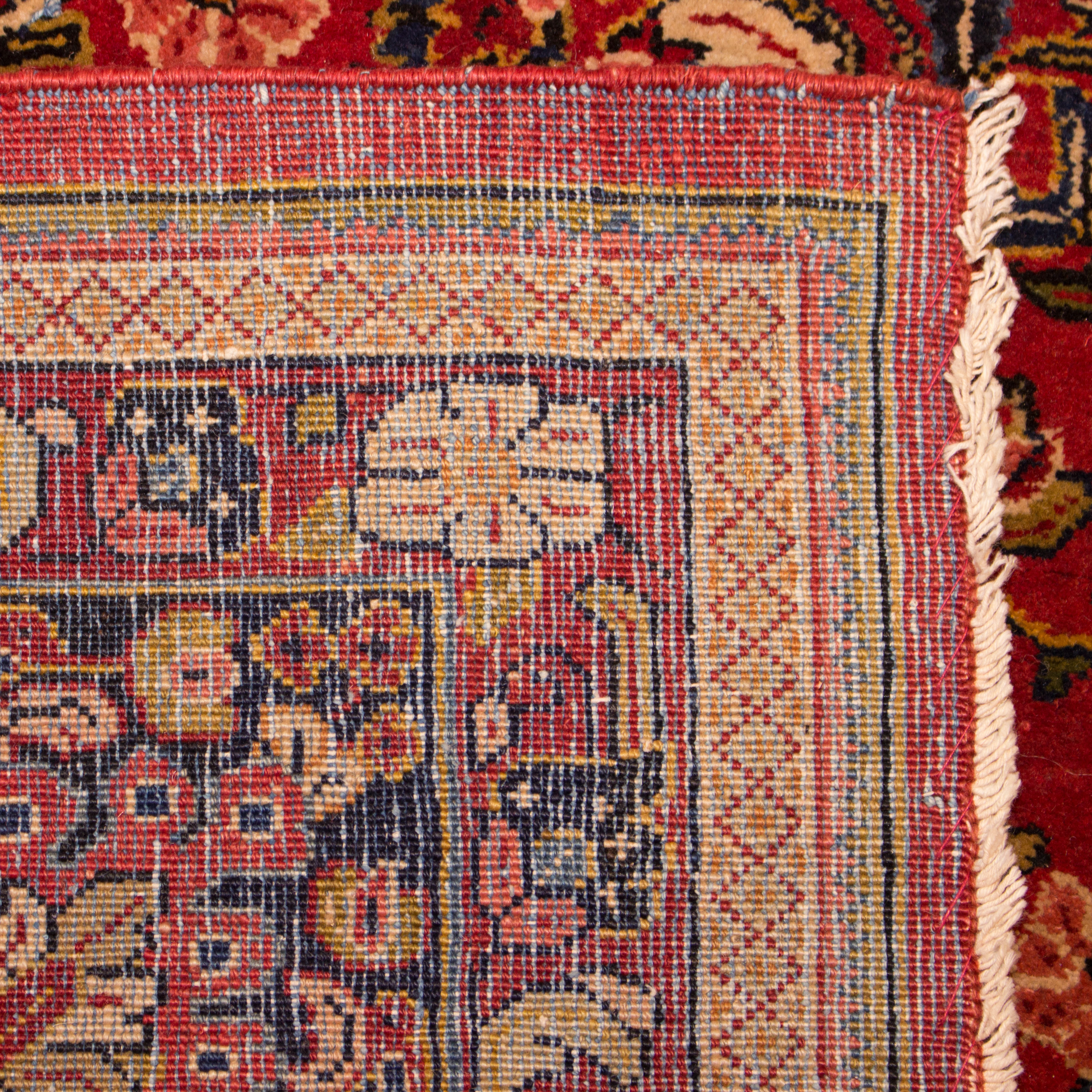Alex Cooper Reserve Persian Wool Pile Hand Knotted Red Rug